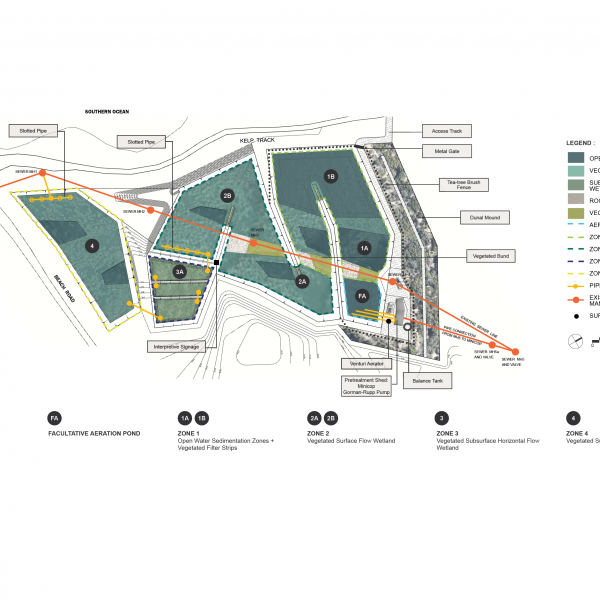 Syrinx Environmental - Currie King Island Site Plan Detailed