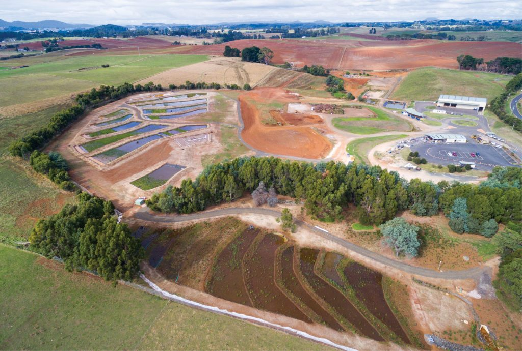 Syrinx Environmental - Projects - Burnie - Aerial